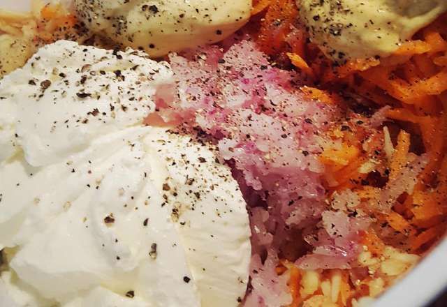 coleslaw kryddning