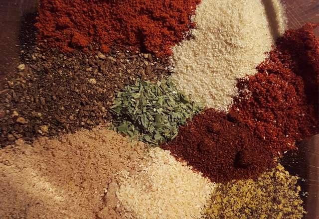 Kryddor till rubb