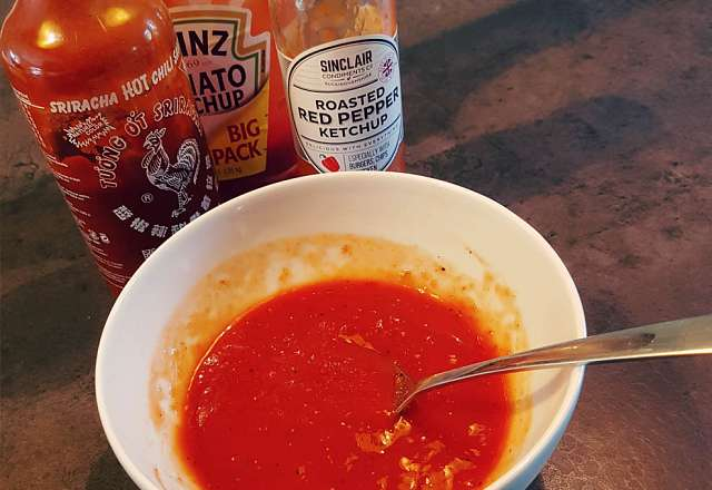 Rosted hot sauce