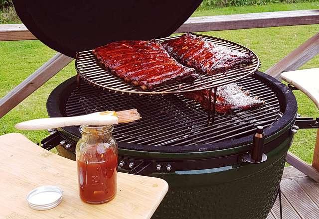 Dags för Hot and Sticky BBQ Glaze