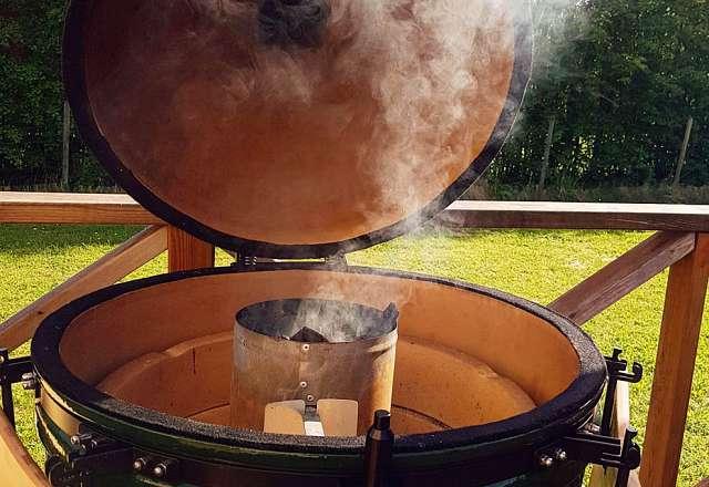 Tänd grillen i tid för att få bästa möjliga värme
